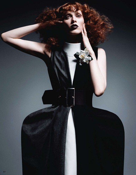 VOGUE JAPAN Karen Elson in In This Tender Light by Daniele & Iango. June 2011, www.imageamplified.com, Image Amplified (2)