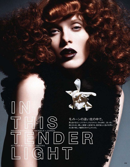 VOGUE JAPAN Karen Elson in In This Tender Light by Daniele & Iango. June 2011, www.imageamplified.com, Image Amplified (1)