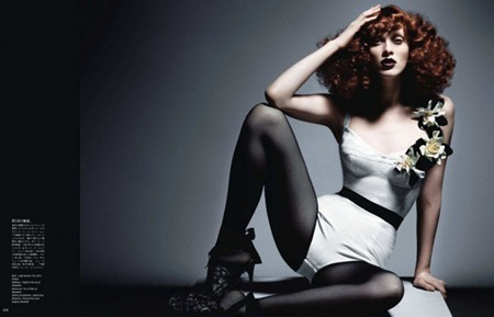 VOGUE JAPAN Karen Elson in In This Tender Light by Daniele & Iango. June 2011, www.imageamplified.com, Image Amplified (6)