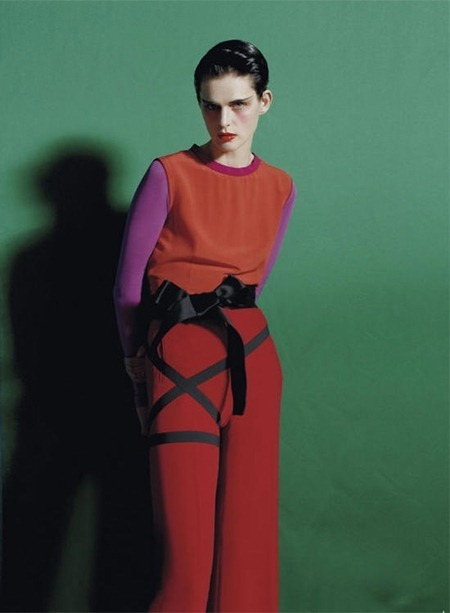 VOGUE ITALIA Stella Tennant in Color Blocks by Tim Walker. Jacob K, May 2011, www.imageamplified.com, Image Amplified (11)