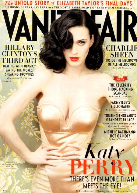 VANITY FAIR MAGAZINE Katy Perry in Katy Perry's Grand Tour by Annie Leibovitz. Jessie Diehl, June 2011, www.imageamplified.com, Image Amplified (1)