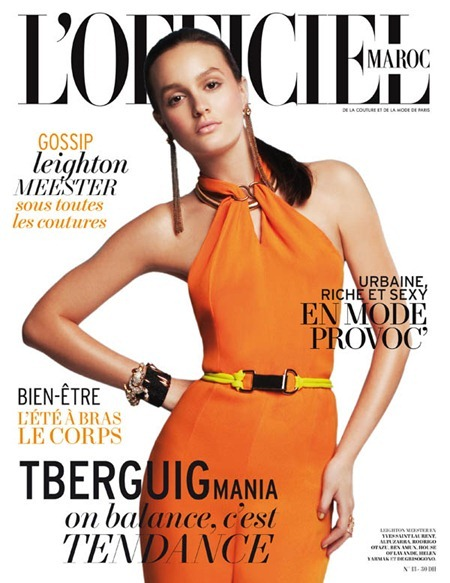 L'OFFICIEL CHINA Leighton Meester in Queen B by Alexey Yurenev. Peju Famojure, www.imageamplified.com, Image Amplified