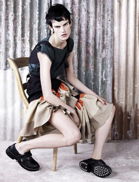 DAZED & CONFUSED MAGAZINE Saskia de Brauw by Ben Toms. Jacob K, June 2011, www.imageamplified.com, Image Amplified (3)