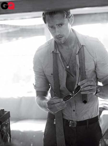 GQ MAGAZINE Alexander Skarsgard in Here Comes the Viking by Carter Smith. June 2011, www.imageamplified.com, Image Amplified (1)