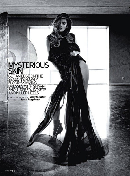 ELLE MAGAZINE Lily Aldridge in Mysterious Skin by Mark Pillai. Kate Lanphear, June 2011, www.imageamplified.com, Image Amplified (8)