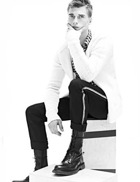 CAMPAING Clement Chabernaud for Balmain Homme Fall 2011 by Karim Sadli. www.imageamplified.com, Image Amplified (1)