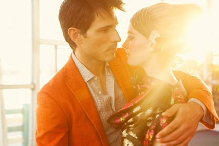VOGUE HOMBRE Julia Dunstall & Andres Velencoso Segura in Miami Vintage by Alexander Neumann. Spring Summer 2011, Danny Santiago, www.imageamplified.com, Image Amplified (5)