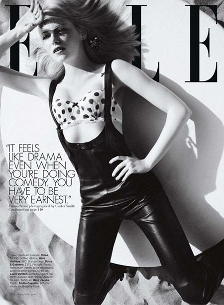 ELLE MAGAZINE Emma Stone in Riot Girl by Carter Smith. July 2011, Joe Zee, www.imageamplified.com, Image Amplified (9)