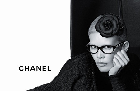 CAMPAIGN Claudia Schiffer for Chanel Eyewear Fall 2011 by Karl Lagerfeld. www.imageamplified.com, Image Amplified (2)