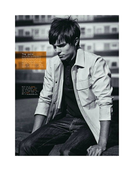 Picture About Male Model Nicholas Hoult Shot by  Alan Clarke for Esquire UK Mag
