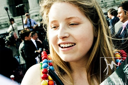 IA AT THE HARRY POTTER AND THE DEATHLY HALLOWS 2 PREMIERE IN LONDON: Photos of jESSIE cAVE by Troy Wise. Rick G, www.imageamplified.com, Image Amplified