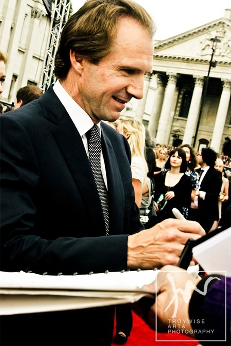 IA AT THE HARRY POTTER AND THE DEATHLY HALLOWS 2 PREMIERE IN LONDON: Photos of Ralph Fiennes by Troy Wise. Rick G, www.imageamplified.com, Image Amplified