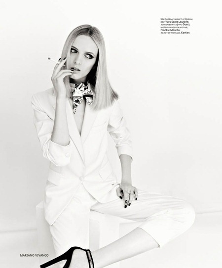 VOGUE RUSSIA Daria Strokous by Mariano Vivanco. August 2011, Katerina Mukhina, www.imageamplified.com, Image Amplified (3)