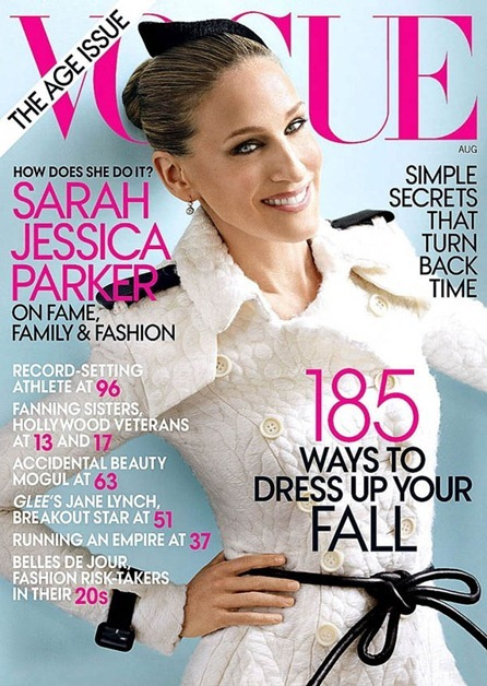 VOGUE MAGAZINE Sarah Jessica Parker by Mario Testino. August 2011, www.imageamplified.com, Image Amplified (6)