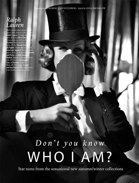 TATLER MAGAZINE Don't You Know Who I Am by Robert Trachtenberg. Anna Bromilow, August 2011, www.imageamplified.com, Image Amplified (8)