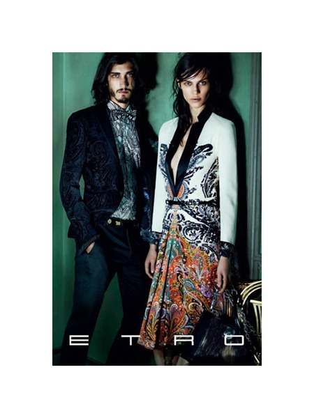 CAMPAING Stella Tennant & Aymeline Valade for Etro Fall 2011 by Mario Testino. www.imageamplified.com, Image Amplified (5)