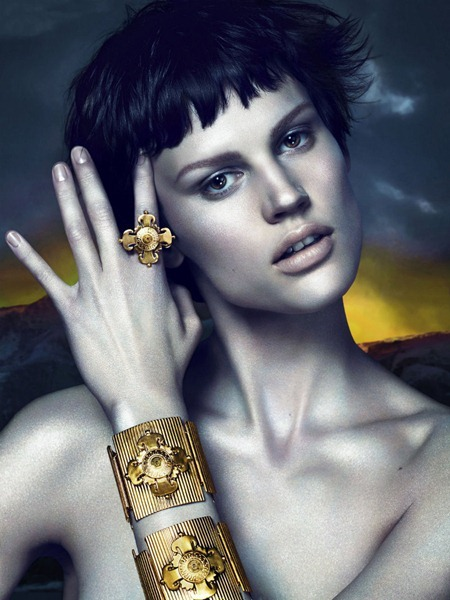 CAMPAIGN Saskia de Brauw for Versace Fall 2011 by Mert & Marcus. www.imageamplified.com, Image Amplified (7)