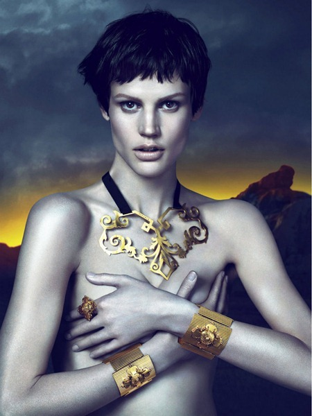 CAMPAIGN Saskia de Brauw for Versace Fall 2011 by Mert & Marcus. www.imageamplified.com, Image Amplified (8)