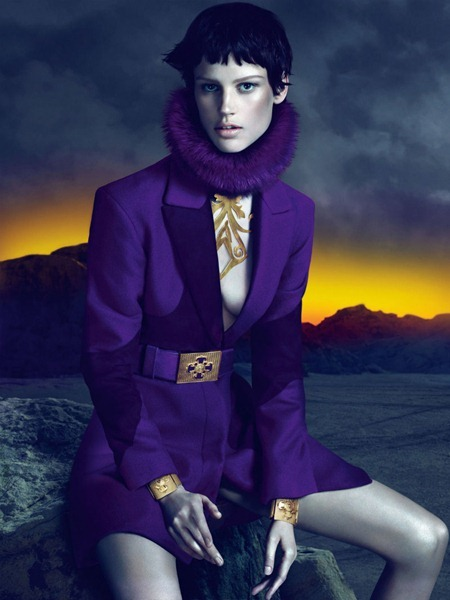 CAMPAIGN Saskia de Brauw for Versace Fall 2011 by Mert & Marcus. www.imageamplified.com, Image Amplified (9)