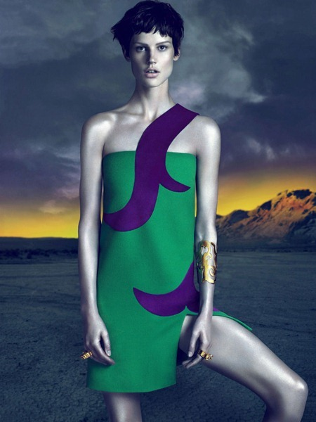 CAMPAIGN Saskia de Brauw for Versace Fall 2011 by Mert & Marcus. www.imageamplified.com, Image Amplified (10)