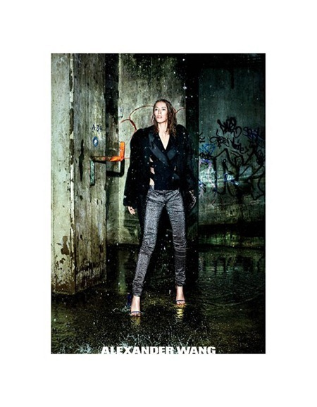 CAMPAIGN Raquel Zimmermann for Alexander Wang Fall 2011 by Fabien Baron. www.imageamplified.com, Image Amplified (1)