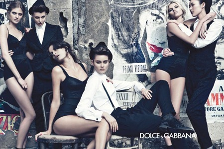 CAMPAIGN Liu Wen, Isabeli Fontana, Maryna Linchuk, Constance Jablonski, Jac Jagaciak & Kate King for Dolce & Gabbana Fall 2011 by Steven Klein. www.imageamplified.com, Image Amplified (5)