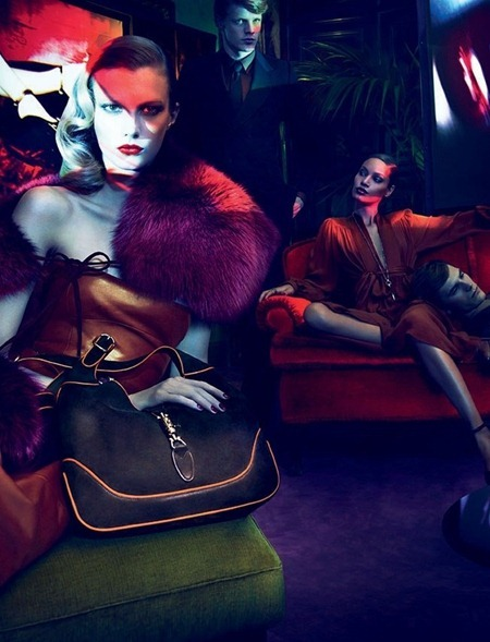 CAMPAIGN Joan Smalls, Abbey Lee Kershaw, Emily Baker & Sigrid Agren for Gucci Fall 2011 by Mert & Marcus. www.imageamplified.com, Image Amplified (10)