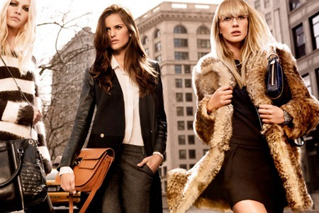 CAMPAIGN Izabel Goulart, Anne Byalitsyna & Aline Weber for DKNY Fall 2011 by Inez & Vinoodh. www.imageamplified.com, Image Amplified (2)
