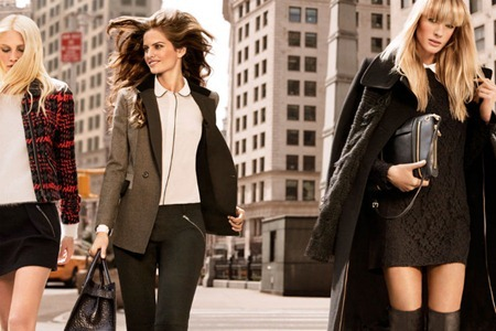 CAMPAIGN Izabel Goulart, Anne Byalitsyna & Aline Weber for DKNY Fall 2011 by Inez & Vinoodh. www.imageamplified.com, Image Amplified (3)
