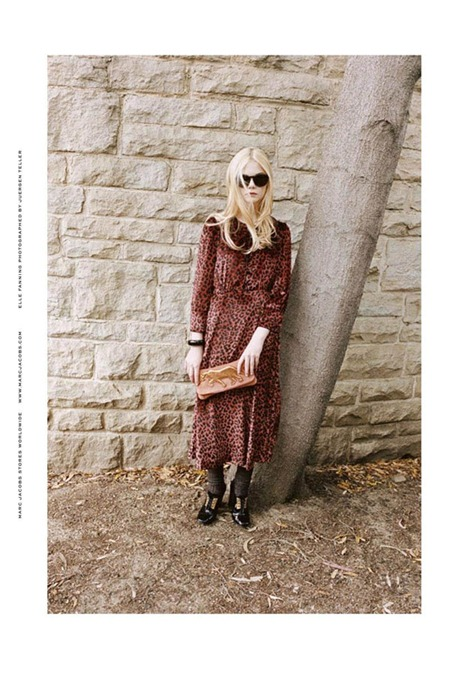CAMPAIGN Elle Fanning for Marc by Marc Jacobs Fall 2011 by Juergen Teller. www.imageamplified.com, Image Amplified (5)