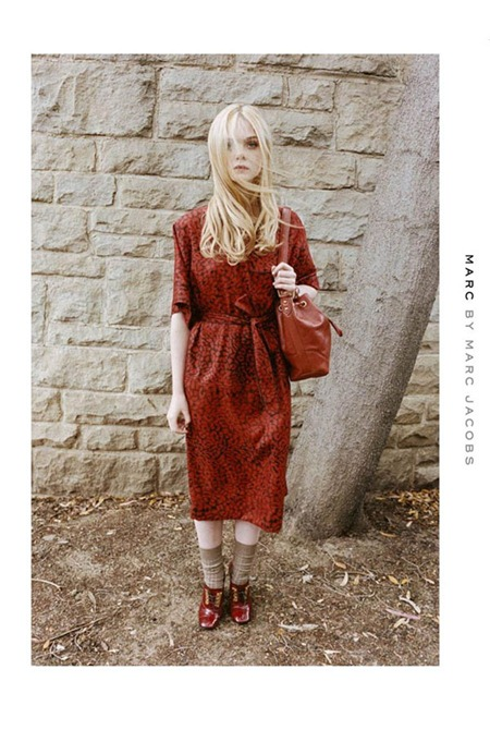CAMPAIGN Elle Fanning for Marc by Marc Jacobs Fall 2011 by Juergen Teller. www.imageamplified.com, Image Amplified (7)