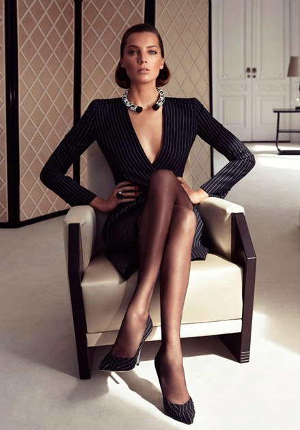 CAMPAIGN Daria Werbowy for Salvatore Ferragamo Fall 2011 by Mikael Jansson. www.imageamplified.com, Image Amplified (5)
