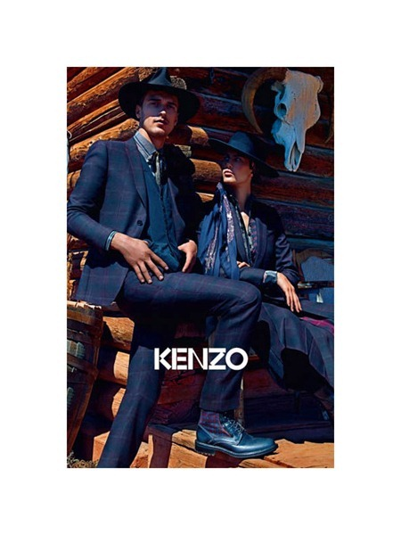 CAMPAIGN Aymeline Valade & Kasia Struss for Kenzo Fall 2011 by Mario Sorrenti. www.imageamplified.com, Image Amplified (4)