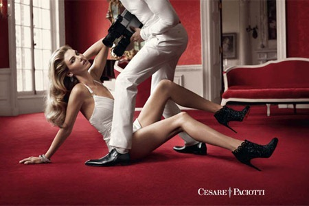 CAMPAIGN Angela Lindvall & Mark Vanderloo for Cesare Paciotti Fall 2011 by Sebastian Faena. www.imageamplified.com, Image Amplified (2)