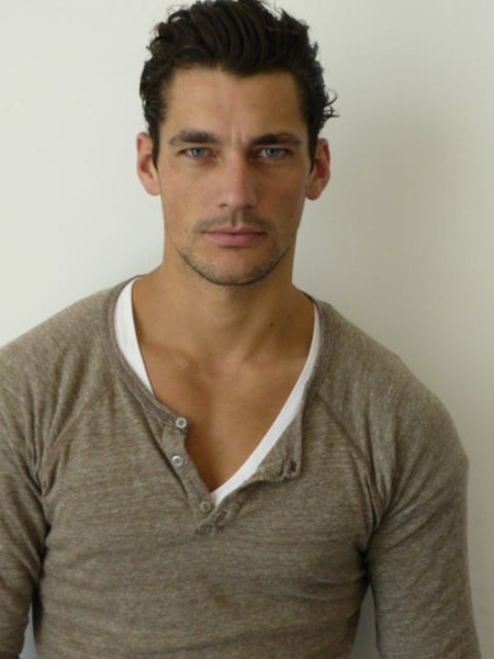 AGENCY David Gandy with DNA Models. www.imageamplified.com, Image Amplified (3)