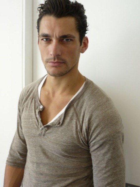 AGENCY David Gandy with DNA Models. www.imageamplified.com, Image Amplified (4)