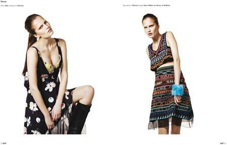 EXIT MAGAZINE Alla Kostromicheva by Willem Jaspert. Spring Summer 2011, Sam Ranger, www.imageamplified.com, Image Amplified (4)