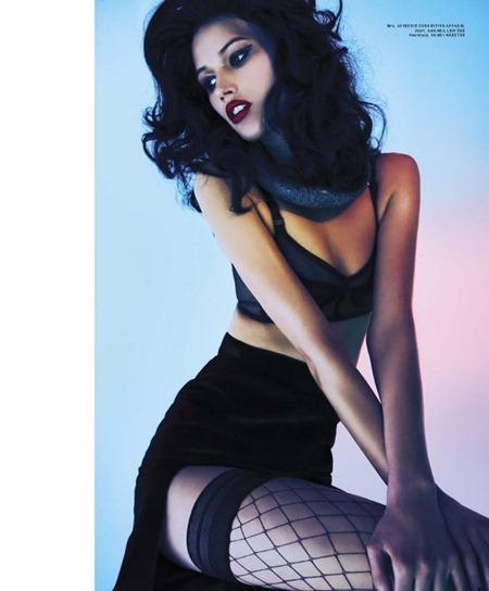 PULP MAGAZINE Tara Gill in Black Lilith by Akran Zakharov. Juliana Schiavinatto, www.imageamplified.com, Image Amplified (14)