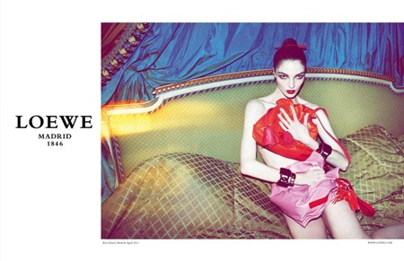 CAMPAIGN Mariacarla Boscono for Loewe Fall 2011 by Mert & Marcus. www.imageamplified.com, Image Amplified (3)