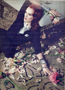 W MAGAZINE Karen Elson in Shar Suiters by Emma Summerton. Edward Enninful, August 2011, www.imageamplified.com, Image Amplified (1)