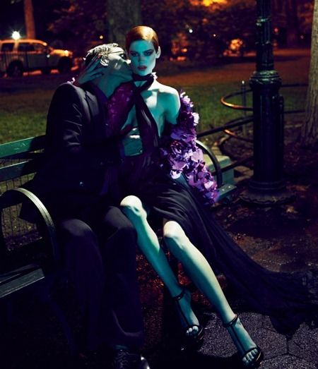 INTERVIEW MAGAZINE Saskia de Brauw & Marique Schimmel in Gucci by Mert & Marcus. Karl Templer, www.imageamplified.com, Image Amplified (2)