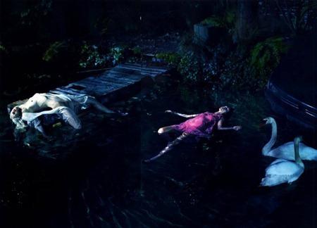 LOVE MAGAZINE Lara Stone, Kristen McMenamy & Mariacarla Boscono in What Lies Beneath by Mert & Marcus. Katie Grand, www.imageamplified.com, Image Amplified (13)