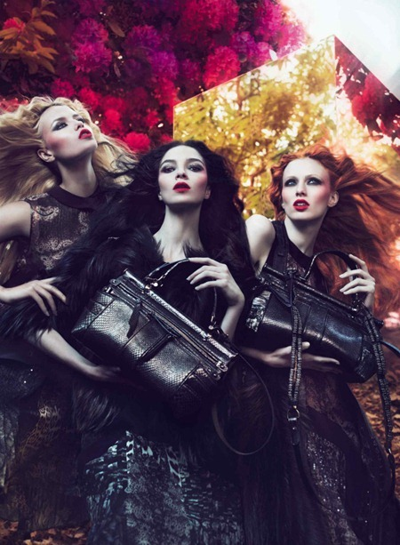 CAMPAIGN Mariacarla Boscono, Karen Elson & Natasha Poly for Roberto Cavalli Fall 2011 by Mert & Marcus. Panos Yiapanis, www.imageamplified.com, Image Amplified (6)