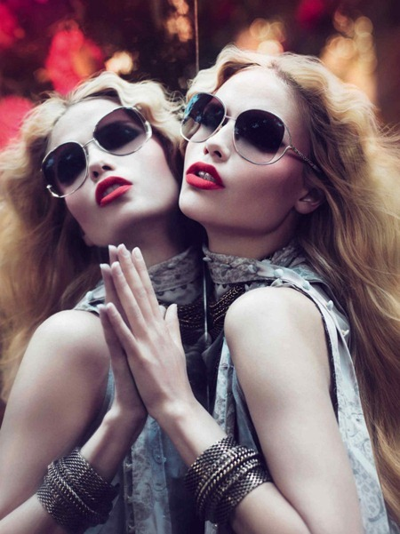 CAMPAIGN Mariacarla Boscono, Karen Elson & Natasha Poly for Roberto Cavalli Fall 2011 by Mert & Marcus. Panos Yiapanis, www.imageamplified.com, Image Amplified (9)