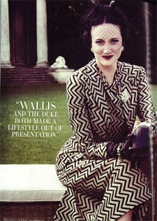 VANITY FAIR MAGAZINE Windsor Dressing from Madonna's W.E. by Tom Munro. September 2011, www.imageamplified.com, Image Amplified (1)