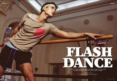 AXN MAGAZINE Tommy in Flash Dance by James Demitri. www.imageamplified.com, Image Amplified (1)