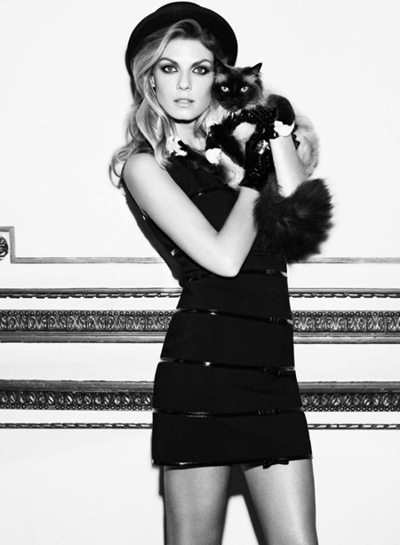 CAMPAIGN Angela Lindvall for Georges Rech Fall 2011. www.imageamplified.com, Image Amplified (2)