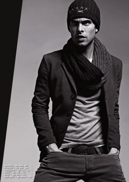 CAMPAIGN Jon Kortajarena for Armani Jeans Fall 2011. www.imageamplified.com, Image Amplified (7)