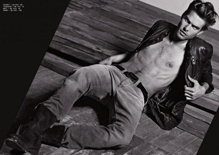 CAMPAIGN Jon Kortajarena for Armani Jeans Fall 2011. www.imageamplified.com, Image Amplified (4)