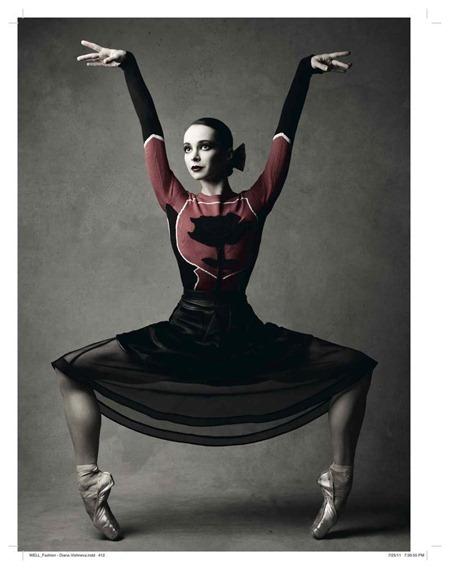 VOGUE RUSSIA Prima Ballerina Diana Vishneva by Patrick Demarchelier. Katerina Mukhina, September 2011, www.imageamplified.com, Image Amplified (6)